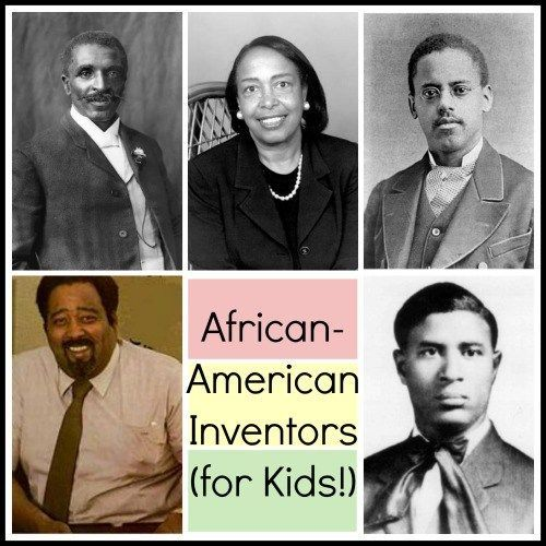 African American Inventors for Kids- perfect for Black History Month or ANY month for kids to learn about inventors. Kid World Citizen
