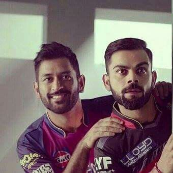 Dhoni & Kohli