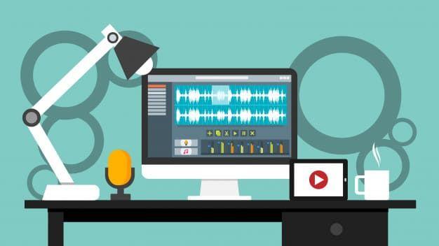 تحميل أفضل 22 برنامج مونتاج فيديو 2019 لجميع الأجهزة مجانا Sound Editing Software Workplace Video Editor