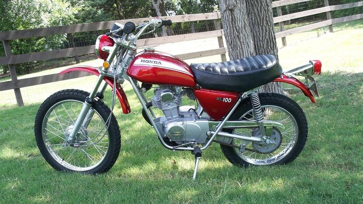 Honda SL100 Motorcycle...