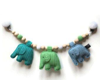 Wagenspanner met olifantjes