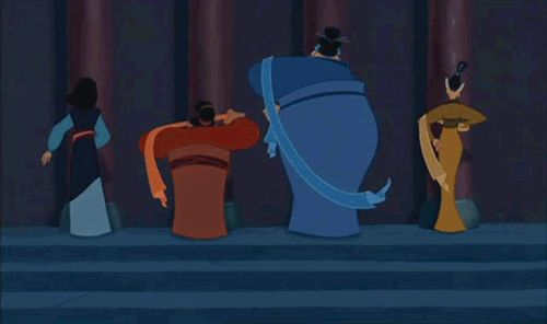 She taught her friends that being a woman had its advantages. | Community Post: 18 Times Mulan Proved She Was The Best Disney Princess