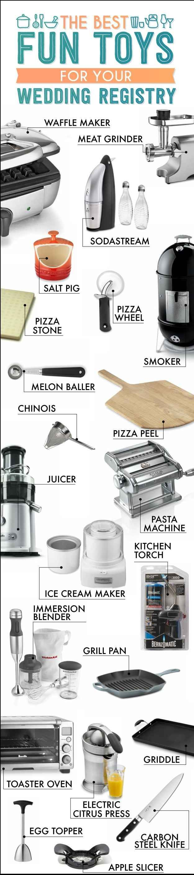 The Essential Wedding Registry Checklist For Your Kitchen. Wedding Registry Essentials || Aisle Perfect