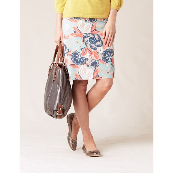 Boden! Colourful Cord Skirt, found on #polyvore. #women
