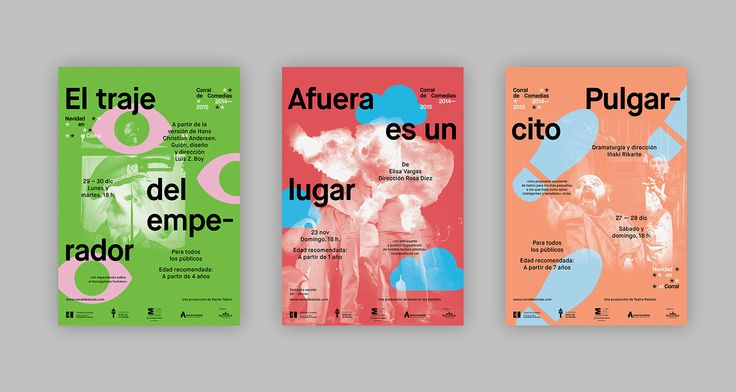 Teatro de La Abadía – Posters 2014-1015 on Behance