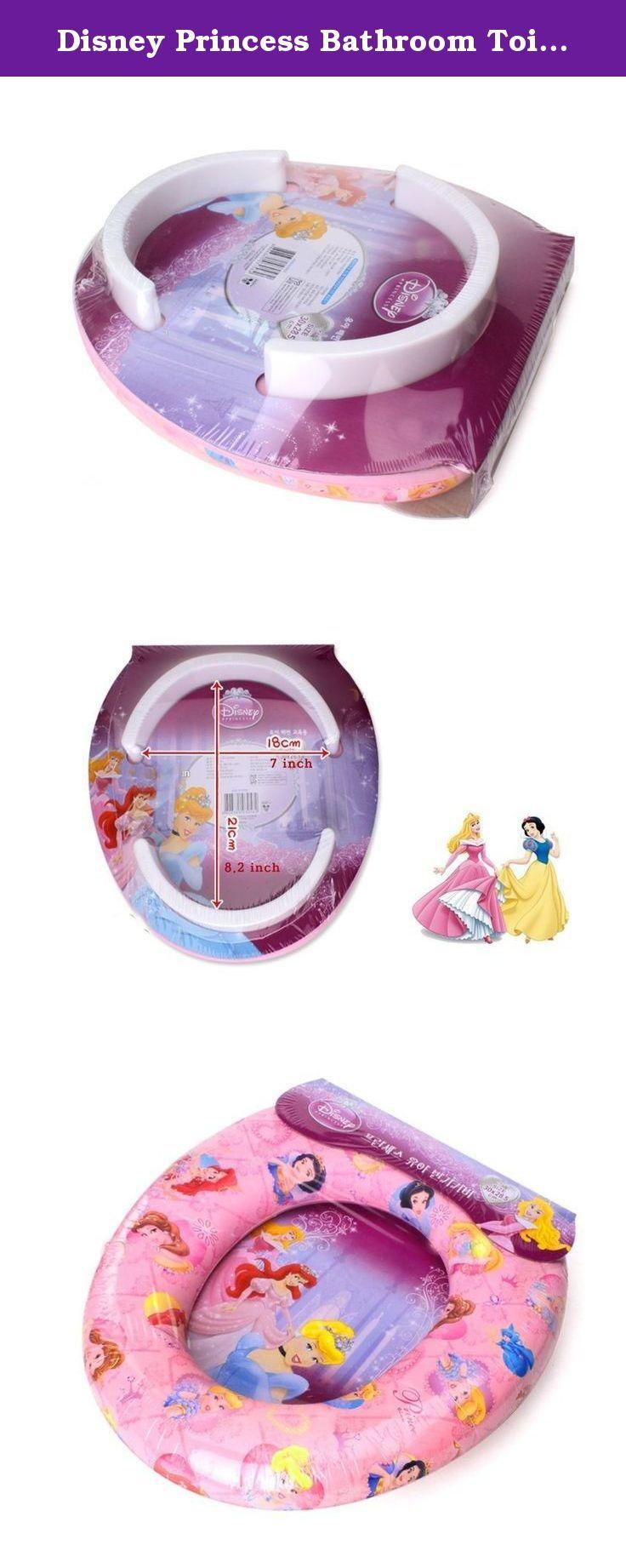 Disney Princess Bathroom Toilet Training Children Kids Potty Bidet Soft Seat Cover. Toilet Training Seat Covers / Potty Training Seat.