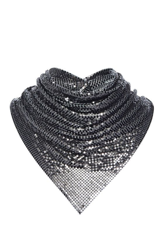 Paco Rabanne Chainmail Neck Scarf   LN-CC