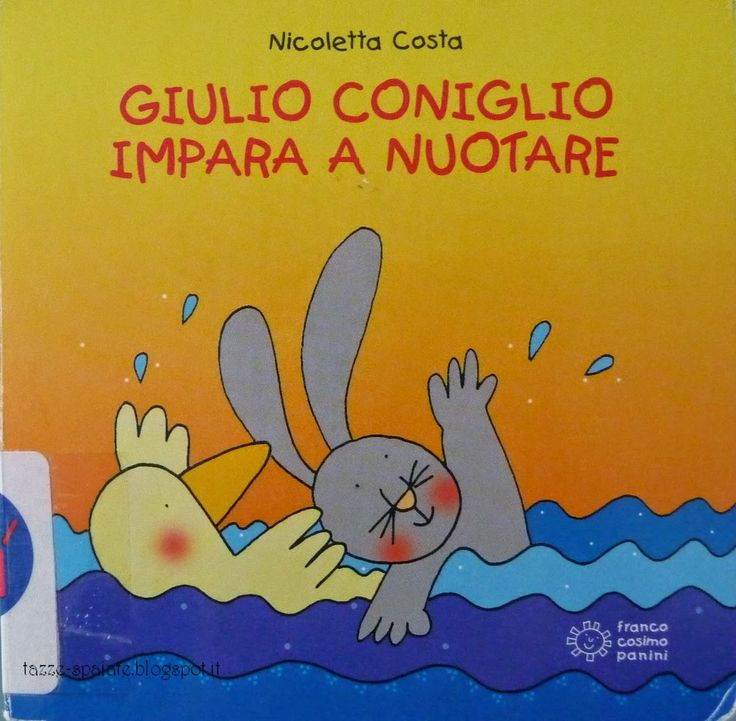 Giulio Coniglio impara a nuotare Nicoletta Costa