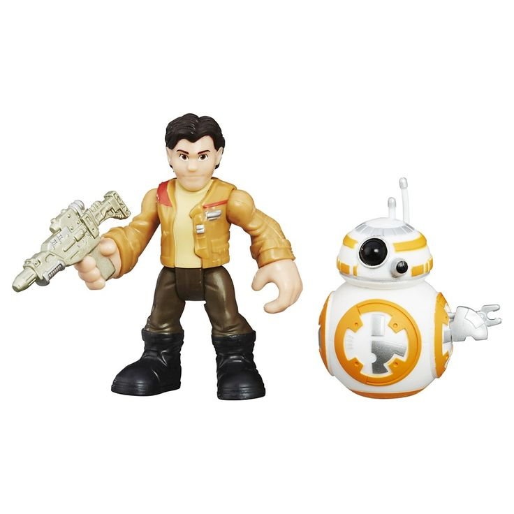 Playskool Heroes Star Wars Galactic Heroes BB-8 and Poe Dameron 2-Pack