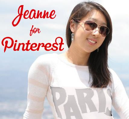 Jeanne for Pinterest | Thanks for #Repin!