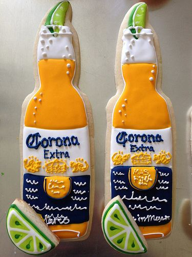 Corona and Lime Cookies...well these are awesome!