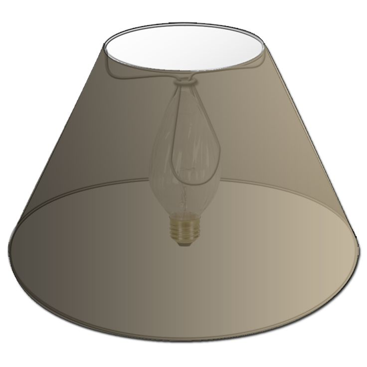 Chandelier lamp shades