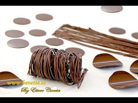 Receta de chocolate para modelar | Como hacer rosas de chocolate | Flores de chocolate paso a paso - YouTube