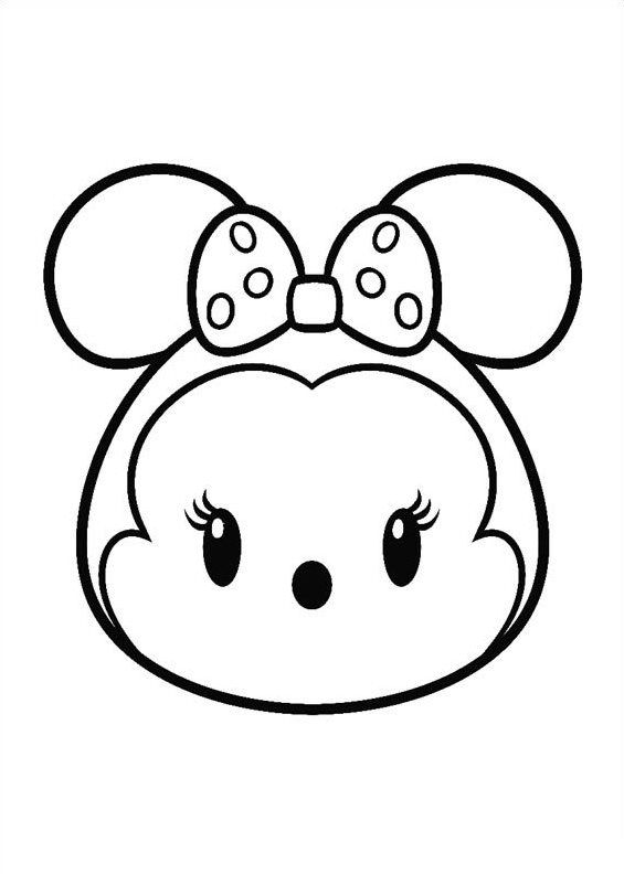 27 coloring pages of tsum tsum - Picture For Coloring