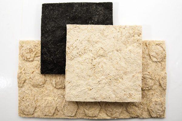 CORNSPAN_fibres de cosse de maïs pour la fabrication de panneaux qui peuvent être utilisés dans la construction locale pour isolation phonique et thermique.