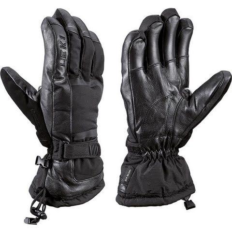 Leki Men's Detect S Gloves - Black