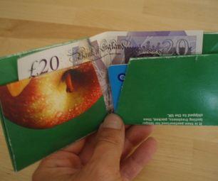 Tetra Pak Juice Carton Wallet