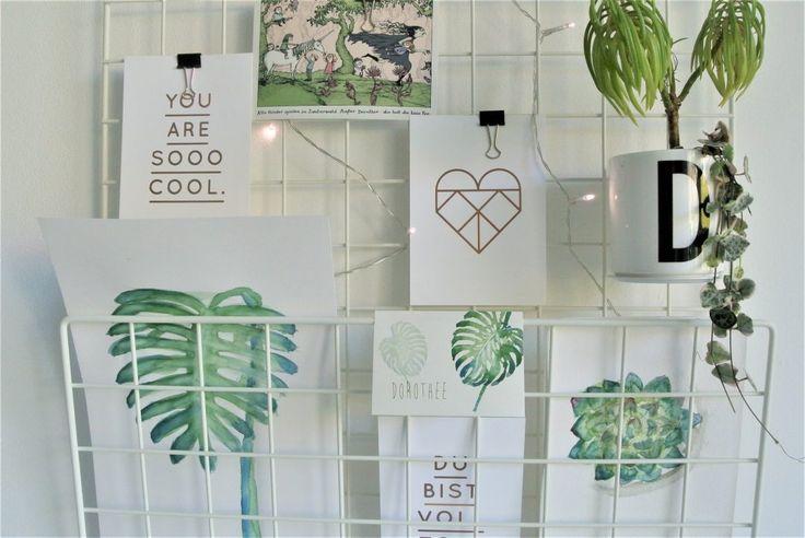 Im Trend von Greenery – Wir malen Botanicals – living.elements