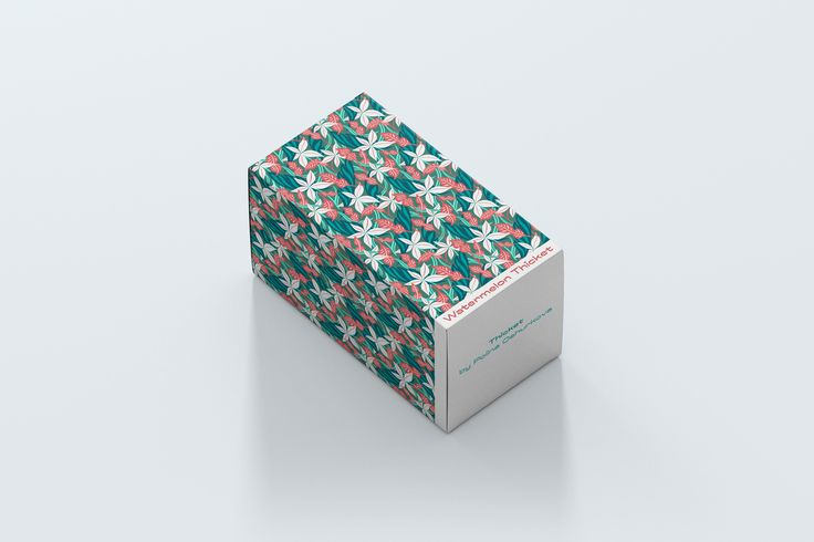 Packaging with Thicket Pattern by Kipo