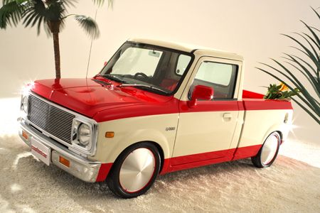 Awe... its cute, cool and functional. Its a Japanese Micro Truck/Van with a…
