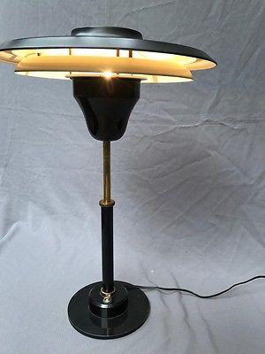 Lampe POULSEN,Henningsen, PERZEL-Table lamp ,Mid century,Vintage,design,50s
