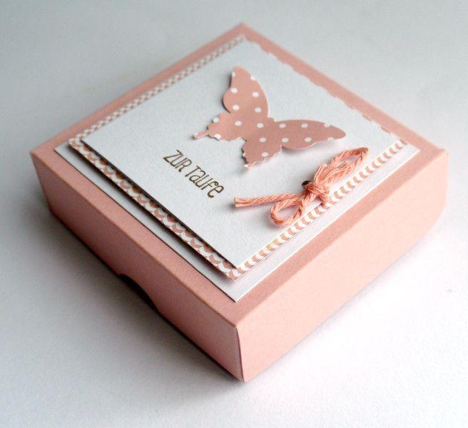 Geldgeschenke - Geschenkverpackung zur Taufe - ein Designerstück von szamie bei DaWanda