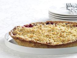 Recept » Colruyt Culinair crumble taart met rood fruit