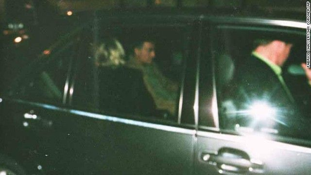 Princess Diana Death Scene | Princess Diana and Dodi al-Fayed can be seen in the back of their car ...