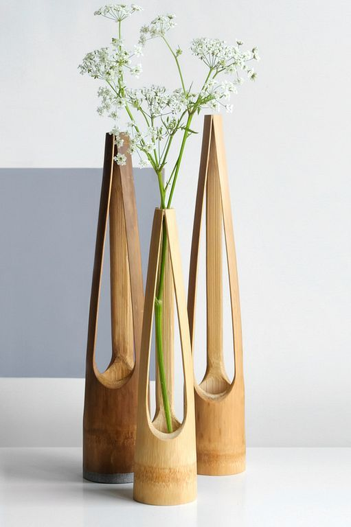 20 Beautiful Bamboo Natural Vase Ideas For Inspiration Bamboo
