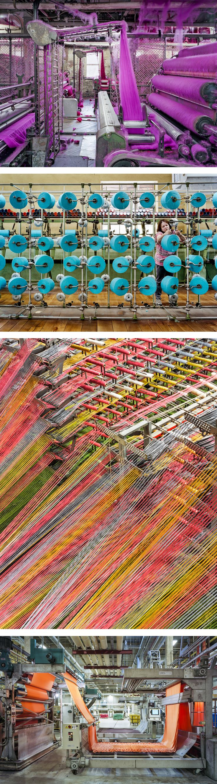 A Photographic Celebration of America's Vibrant Textile Industry by Christopher Payne