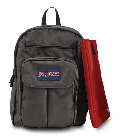 JanSport Digital Student Backpack - Forge Grey www.canadaluggagedepot.ca