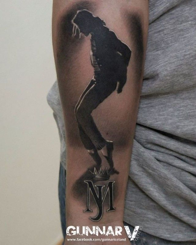 Tattoos inspired by Michael Jackson ღ in fans who love him! - by ⊰@carlamartinsmj⊱