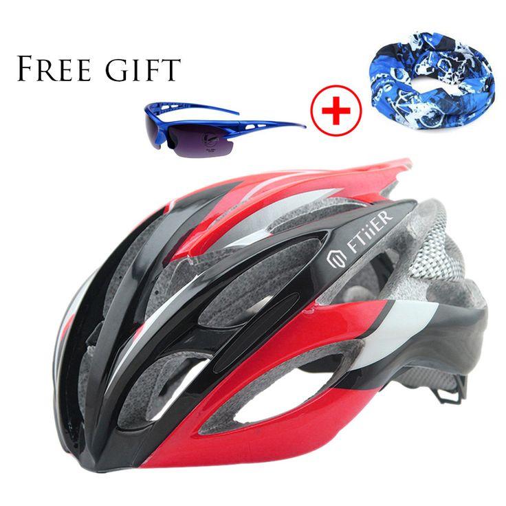 Ftiier ultra light casque velo capacete ciclismo estrada casco mtb Bicycle Helmet casco bici cascos bicicleta carretera 56-62CM