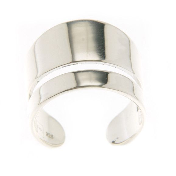 The Ronnie Upper-Finger Ring - Solid Sterling Silver