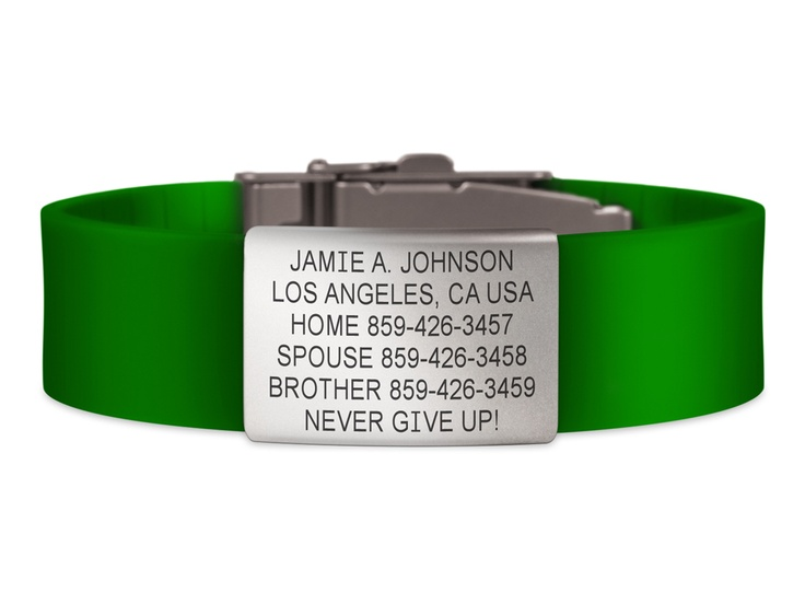 Wrist ID Elite - Green