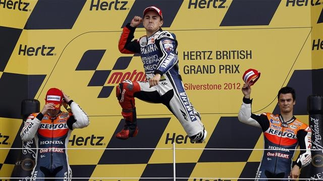 MotoGP Silverstone 2012: Lorenzo Juara