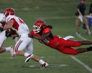 @FSAthletics #16 Phillip Thomas was named this weeks @TheMWC Defensive Player of the Week. #CFB