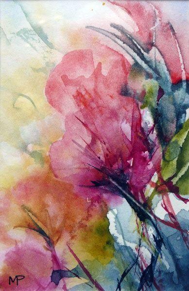 N°19 - Painting,  12x8 cm ©2012 par Véronique Piaser-Moyen -  Peinture