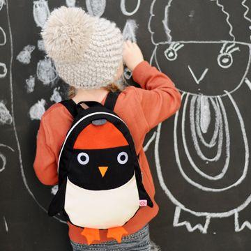 送料無料! アニマルリュック キッズ/子供サイズ ペンギン esthex エステックス backpack Ned - 北欧・ヨーロッパのベビー服・こども服・輸入ベビーキッズ用品通販専門店【LoopFun Baby&Kids】