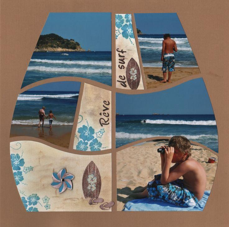 Rêve de surf | Azza - Leader du scrapbooking