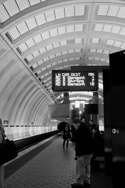 Metro, having never been on a subway before it sure was fun once we figured out how to navigate Washington, DC