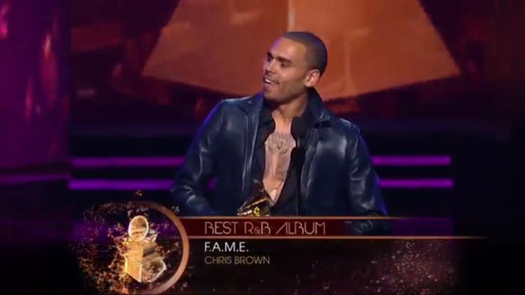 Back in 2012 My fave Chris a Brown won his first Grammy Award For his Fourth Studio Album Fame this was a special moment for him so proud #TeamBreezy