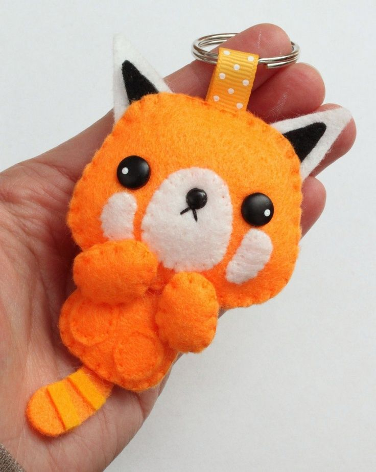 cute fox key chain - inspiration only - bjl