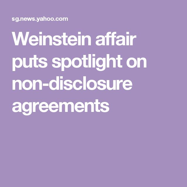 Best 25+ Non disclosure agreement ideas on Pinterest Film shades - sample non disclosure agreements
