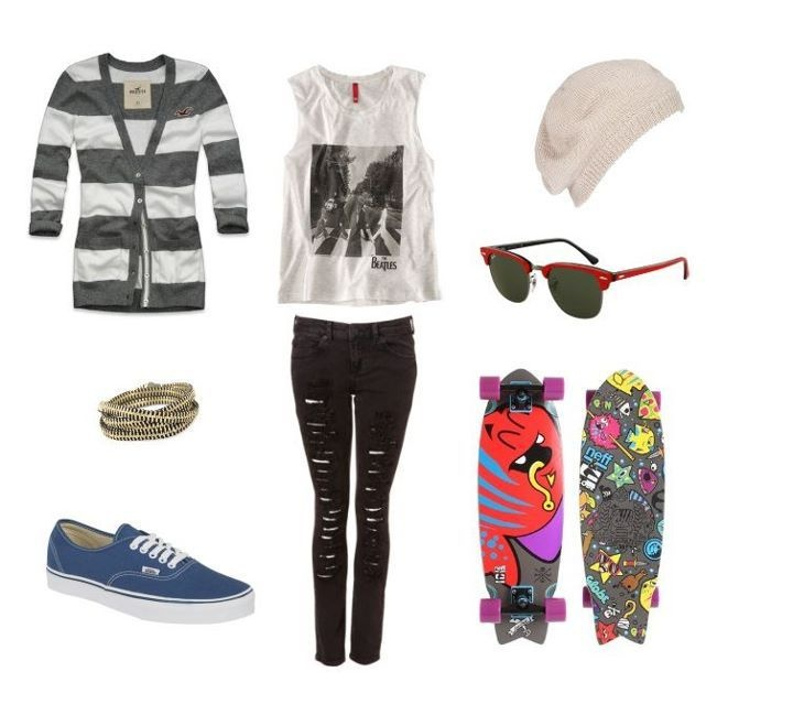 Polyvore Swag Outfits Fashion H Hollister Look Polyvore Inspiring Picture On Favim
