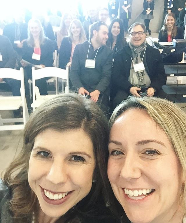 Our CEO and CMO Rebecca and Erin taking a selfie with some of our vendors at the annual Well.ca Vendor Summit! Once a year, we invite vendors and brands to our head office in Guelph to learn more about the company, our achievements over the last year, and all the awesome stuff we have planned for the year ahead!