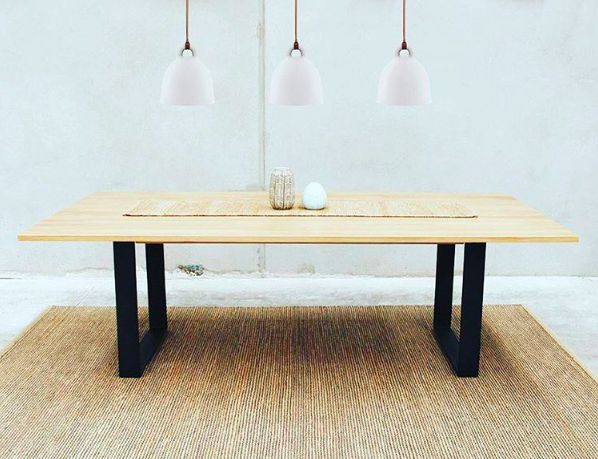 Rustic chic, this sleek solid oak table will integrate seamlessly into your dining space. #connectfurniture #australia #furniture #interiordesign #homedecor #design #picoftheday #instagood #potd #furnituredesign #interiors #furnishings #shopnow #designyourspace #interiordesigner #interiordecor #interiordesignideas #interiordecoration #interiorarchitecture #details #luxury #contemporary #moderndesign #summerdesign #diningtable #oaktable #rusticdesign