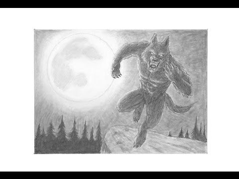 Special Werewolf Drawing! Thanks for 40,000 subs!