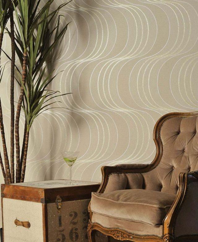 80 Wohnzimmer Tapeten Ideen Coole Moderne Muster Idees De