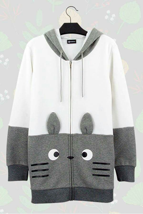 Clothes from animes or popular films; Totoro